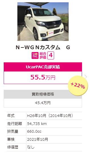 N−WGNカスタム G